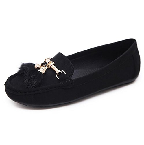 Traspirante SHANGXIAN Piatte Donna Foam Casuale Black UK4 Memory CN37 US6 Scarpe 5 Scarpe 5 5 Basse EU37 Black Comfort 7 Slip On xrqXfdrw