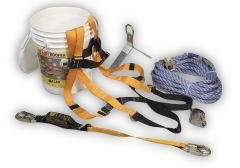 Miller by Honeywell BRFK50/50FT 50-Feet Titan ReadyRoofer Fall Protection System with Full-Body Harness