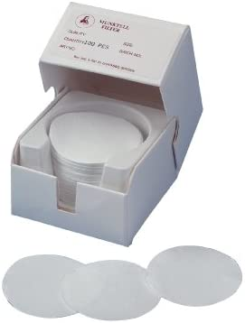 Munktell 419 027 Grade MG D Micro Borosilicate Glass Fibre Filters Paper without Binder Circle Pack of 50 42.5mm Diameter