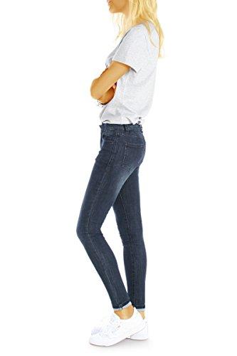 Femme bestyledberlin Jeans Noir Bleu Skinny q1gxEPgR