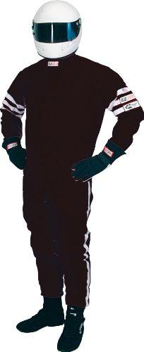 RJS Racing 1004-1-2X Black XX-Large Proban Single Layer Driving Jacket