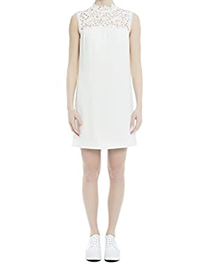 Theory Women's H0209612C05 White Acetate Dress