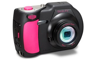 SeaLife DC1400 14MP Digital Underwater Camera, 3″ Color LCD, 5x Optical Zoom, 20MB Internal Memory – Pink Edition For Sale