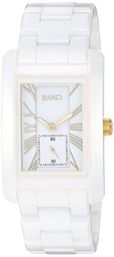 ROBERTO BIANCI WATCHES Men's Milana Quartz Watch with Ceramic Strap, White, 10 (Model: RB58771)