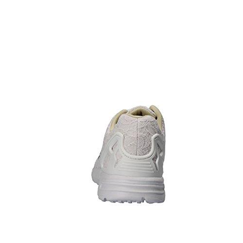 White White Liu Jo White 5 Sneakers Woman US Beige 35 Textile EU UwHgwqORW