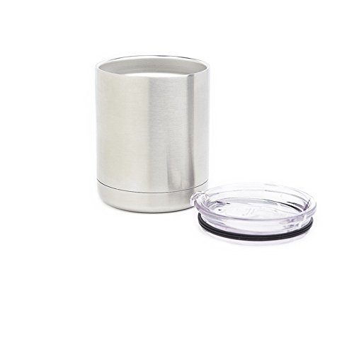Stainless steel tumbler 10 oz lowball Vacuum Insulated Double Wall