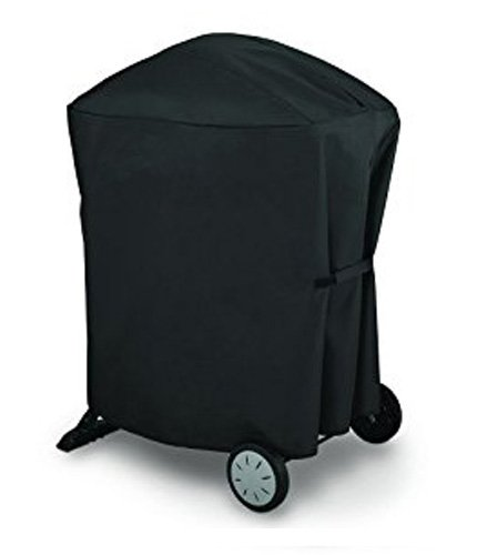 Outspark 7113 Grill cover for Weber Q 1000 and Q2000 Series with Storage Bag - Equivalent to Weber 7113 Grill Cover