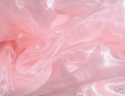 VDS - 5 Yard Charmeuse Bridal Solid Organza Fabric for Wedding Dress Fashion Crafts Decorations Silky Organza 44