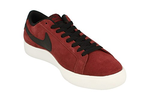 White NIKE Boys Skateboarding Black Red Team Red Dark Shoes T68wZT