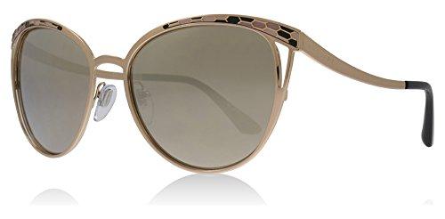 Bvlgari BV6083 20145A Pink Gold BV6083 Square Sunglasses Lens Category 3 Lens M