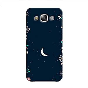 Cover It Up - Flower Moon Galaxy E7 Hard Case