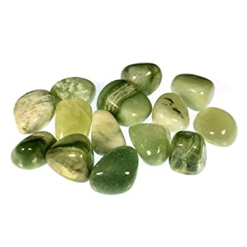 New Jade Tumble Stones (20-25mm) Single Stone CrystalAge