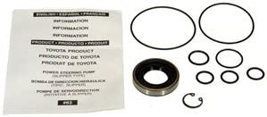 ACDelco 36-348408 Professional Power Steering Pump Seal Kit with Bushing and Seals
