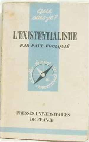 LEXISTENTIALISME