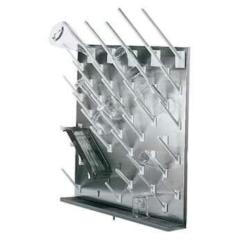 Cole-Parmer AO-67035-90 White peg for Modular Stainless Steel Drying Racks, 4''L (Pack of 6)