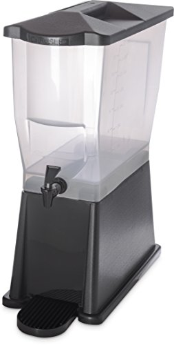 (Carlisle 1085603 TrimLine Opaque BPA-Free Economy Single Base, 3.5 Gallon Capacity, Black)