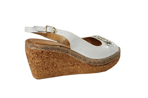 Sandali donna in pelle per l'estate scarpe RIPA shoes made in Italy - 09-674