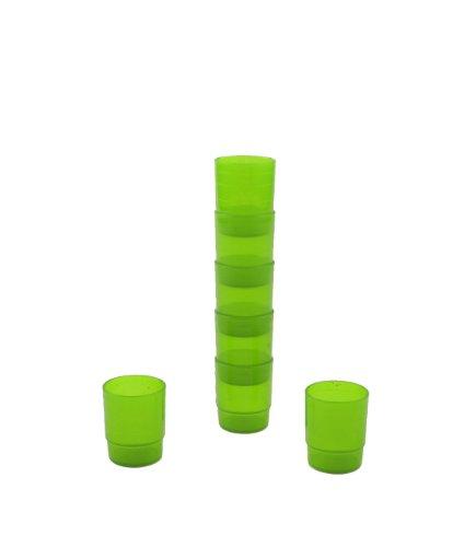 Mehrweg-Medikamentenbecher - 25 ml - grün - 60 Stück
