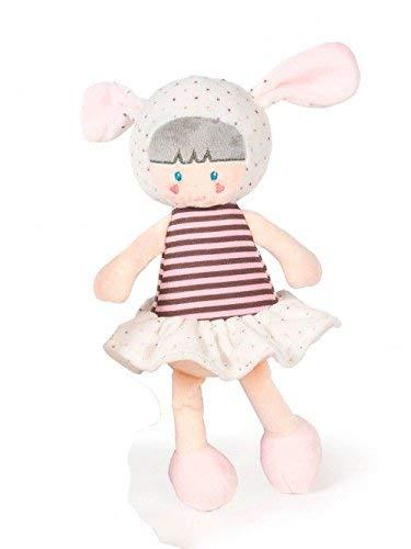 LA NINA–Peluche Coniglietto, 30cm, Colore: Rosa, 61638 30cm