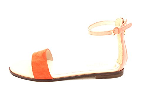 Flat Ankle Feminie Spicy Orange Haan Cole Casual Sandals Strap Sandal Open Peach Toe II Womens Pink 4qtzx6R