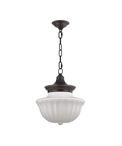 Hudson Valley Lighting 5012-OB One Light Pendant from The Dutchess Collection, 12
