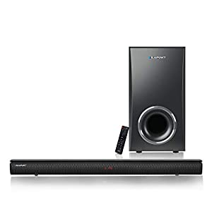 Germany's Blaupunkt SBWL02 130W Bluetooth Soundbar with Wireless Subwoofer, Super Bass with HDMI Arc