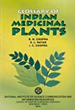 img - for Glossary of Indian Medicinal Plants book / textbook / text book