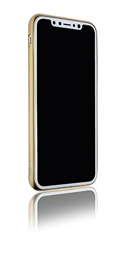 Spada 4052335032788 Electro-Style Soft-Hülle für Apple iPhone X gold