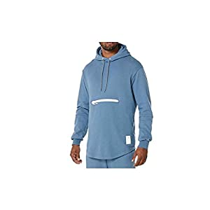 ASICS Men's Premium Fleece Tiger Hoodie - A16035.0042 (Blue - XL)