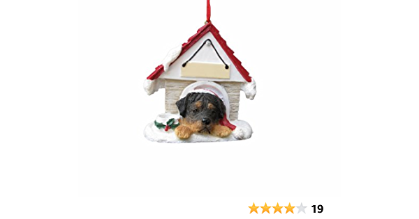 Rottweiler Ornament A Great Gift For Rottweiler Owners Hand Painted And Easily Personalized Doghouse Ornament With Magnetic Back Pet Supplies