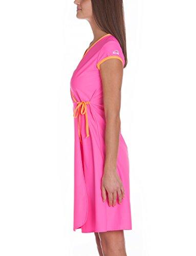 Dress iQ sofferenza Company vestito Neon nbsp;Beach donna per UV Rosa 300 da Fasciatoio spiaggia qIrPwqx