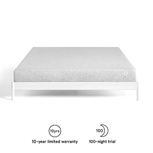 Nod by Tuft & Needle Queen Mattress, Amazon-Exclusive Bed in a Box, Responsive Foam, Sleeps Cooler & More Support Than Memory Foam, More Responsive Than Latex, CertiPUR-US, 10-Year Limited Warranty.