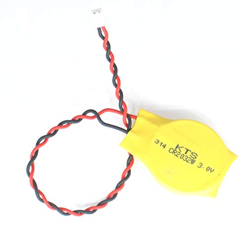 - Replacement CMOS Battery for DELL Latitude D620 D630 D810 D830 E6420 E6430 E6530 E6530 N4050 E7270 M4600 with 2-Pin 2-Wire Cable ... (Yellow w/Long Cable)
