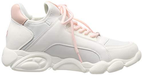 Cali 000 Mujer pink white Buffalo Para Multicolor Zapatillas T8qRPc0zd