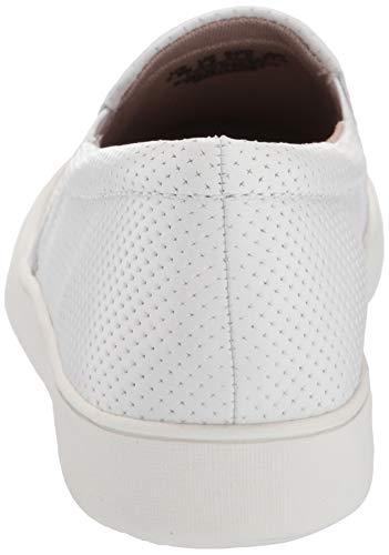 Naturalizer Women's Marianne Shoe, White PERF, 8.5 M US