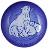 Bing & Grondahl Mother's Day Plate - 2012 - Polar Bear