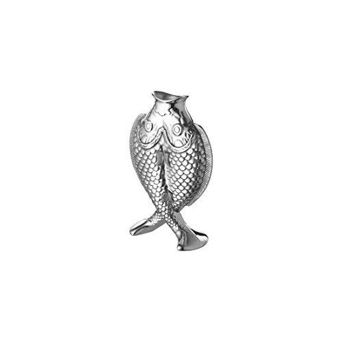 Christofle 04221030 Albi Silver Plated Two Fish Vase (Albi Fish)