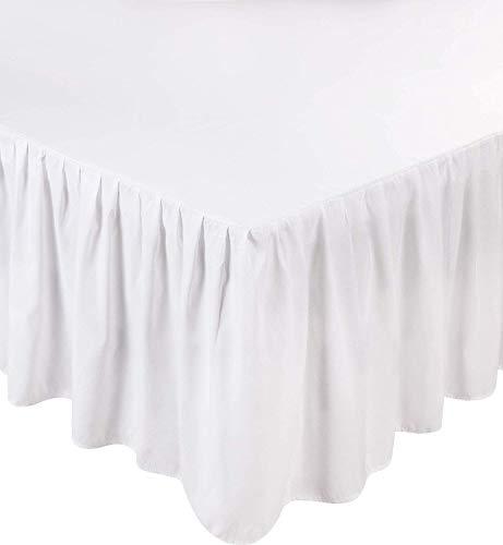 Utopia Bedding Full Bed Ruffle Skirt (White)