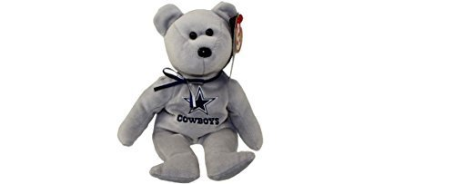 3c7891715a0 Amazon.com  Dallas Cowboys NFL TY Beanie Baby Teddy Bear Plush 8.5 by NFL   Toys   Games