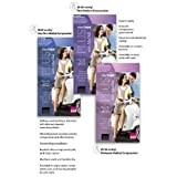Mediven Plus, Thigh-High With Beaded Top Band, 40-50mmHg, Open Toe, Compression Stocking, Beige, II