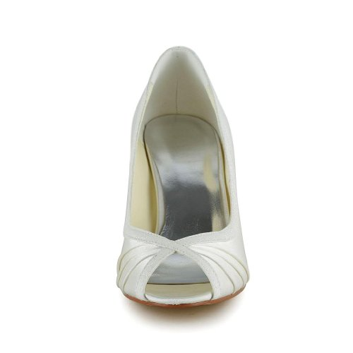 5949413 femme mariage Escarpins JIA de Wedding JIA mariée chaussures pour Beige xgEqHUWwz