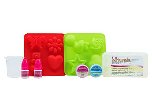 DIY Soap Making Kit for Kids – Make Your Own Soap – 100% Organic Kids Soap Kit Made in Canada by Kiss Naturals