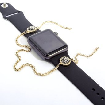 Alpha-x Watch Replacement Band for Apple Watch with Handmade Charm-bracelet Special Discount (42mm Charmbracelet)