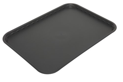 Harfield Tablett, flach, 41 x 30 cm, Polypropylen, schwarz, 41 X 30cm