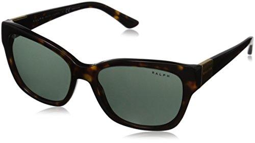 men's 0RA5208 Square Sunglasses, Dark Tortoise, 55 mm ()