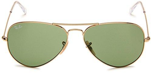 rb3025-aviator-metal-sunglasses-gold-frame-light-green-lenses-58-mm