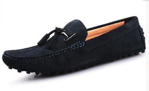 Happyshop (tm) Menns Semsket Skinn Dusk Slip Bil Sko Moccasin Eur Størrelse  På Loafers