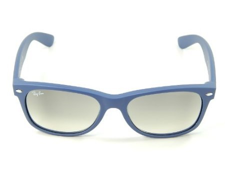 c28944efe8 Ray Ban Wayfarer RB2132 811 32 Light Blue Rubber Gray Gradien 55mm  Sunglasses  Amazon.ca  Sports   Outdoors