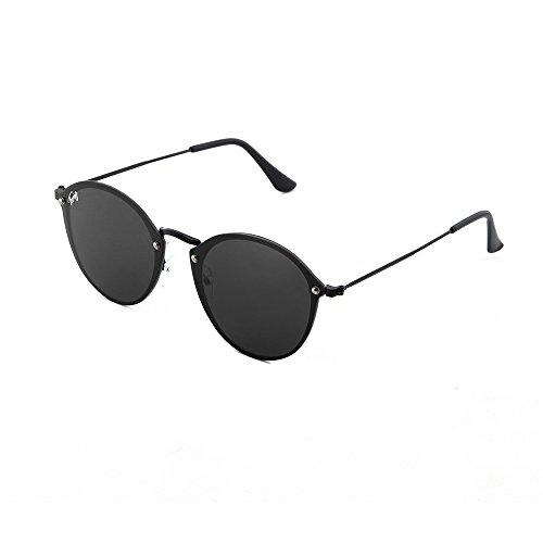 Negro sol Total Gafas FRIDA de espejo degradadas mujer TWIG fwxH8nZq1