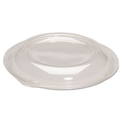 Dome Lids for Silhouette Plastic Bowls, Clear, for 24-32oz Bowls, 200/Carton (4 Cartons)